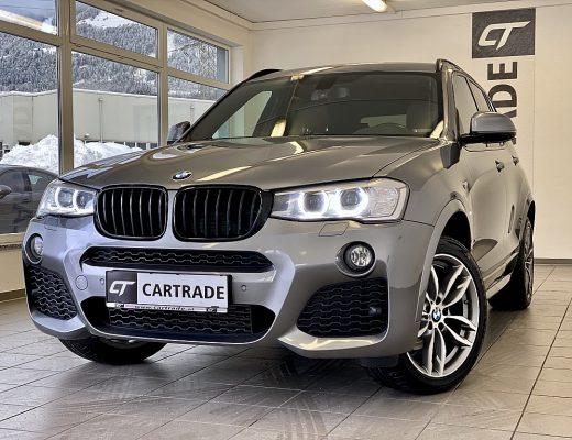 BMW X3 xDrive 20d M Sport Aut. bei   CT Gebrauchtwagen Spezialist in Oberkärnten in