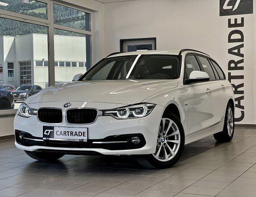 BMW 320d xDrive Touring Sport Line Aut. bei | CT Gebrauchtwagen Spezialist in Oberkärnten in