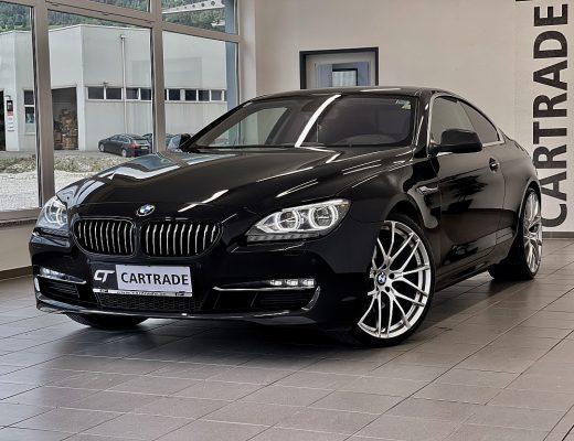 BMW 640d Coupé Österreich-Paket Aut. bei   CT Gebrauchtwagen Spezialist in Oberkärnten in